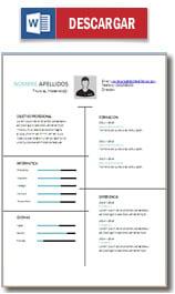 Curriculum En Ingles Plantillas Y Ejemplos
